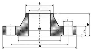 ANSI-Welding-Neck-Flange-B165-300lbs
